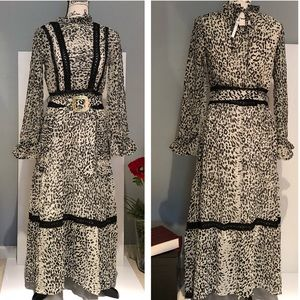 ASOS Leopard and Lace Maxi Dress ◾️NWT, Brand New